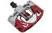 Crankbrothers Mallet 3 Pedal raw/rot